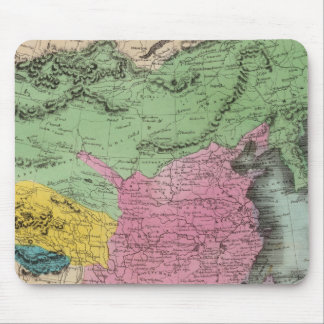 Chinese Empire And Japan Mouse Pad
