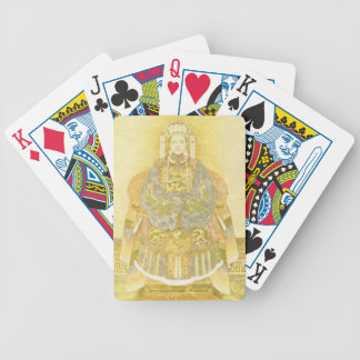 Chinese Empress on Her Throne Bicycle Playing Cards