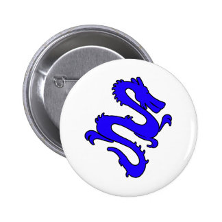 Chinese Enter The Dragon Kung Fu Symbol 2 Inch Round Button