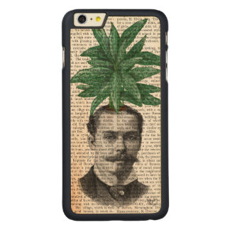 Chinese Evergreen Head Plant Head Carved® Maple iPhone 6 Plus Slim Case