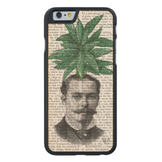Chinese Evergreen Head Plant Head Carved® Maple iPhone 6 Slim Case