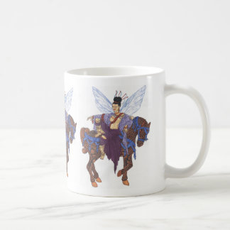 chinese fairy and horse, chinese fairy and hors... mug