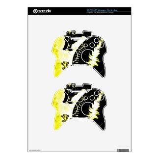 Chinese Fantasy Air Dragon Xbox 360 Controller Skins