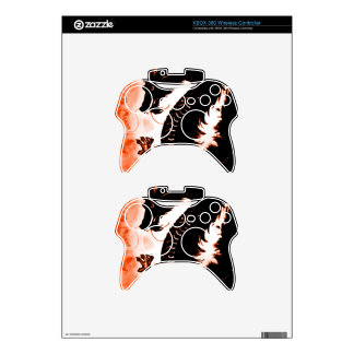 Chinese Fantasy Wood Dragon Xbox 360 Controller Skins