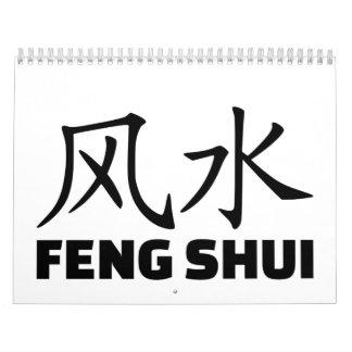 Chinese feng shui calendar