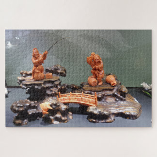 Chinese Fisher Family Jigsaw Puzzle