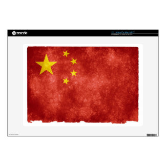 "Chinese Flag 15"" Laptop Skin"