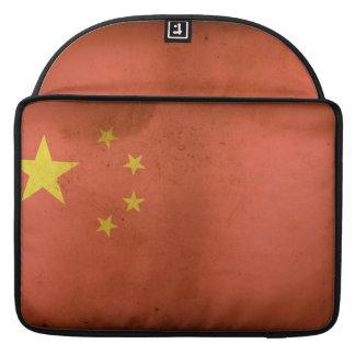 "Chinese Flag 15"" MacBook Pro Sleeve"