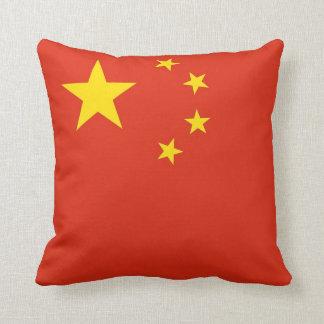 Chinese Flag American MoJo Pillow