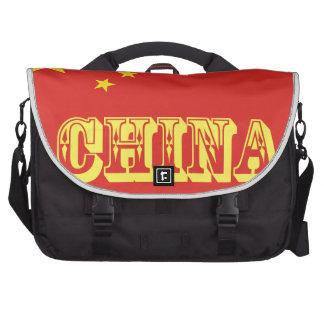 Chinese Flag Laptop Messenger Bag