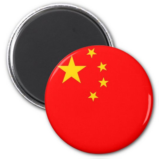 Chinese flag magnet