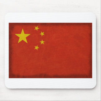 Chinese flag mouse pad