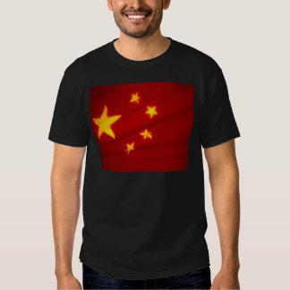 Chinese Flag Tee Shirt