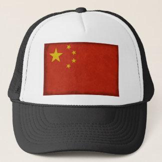 Chinese flag trucker hat