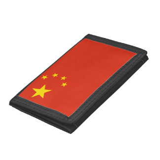 Chinese flag wallets and coin purses