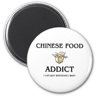 Chinese Food Addict Magnet