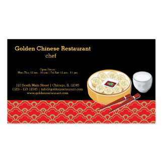 Chopstick Business Cards & Templates