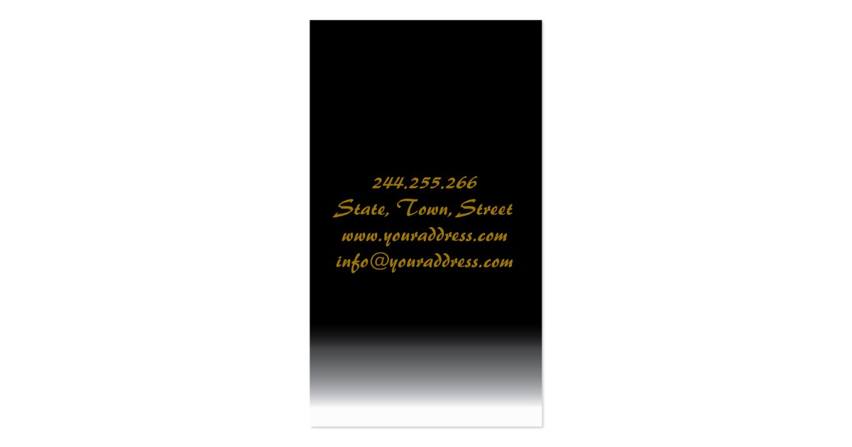 Chinese Food Restaurant Business Card