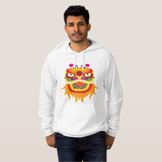 Chinese Fortune Character Mens Hoodie