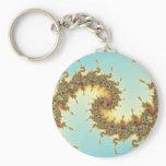 Chinese - Fractal Keychain