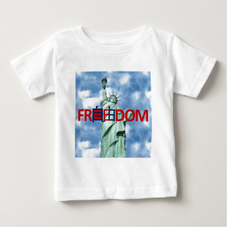 Chinese Freedom and Liberty Baby T-Shirt