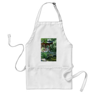 Chinese Garden Adult Apron