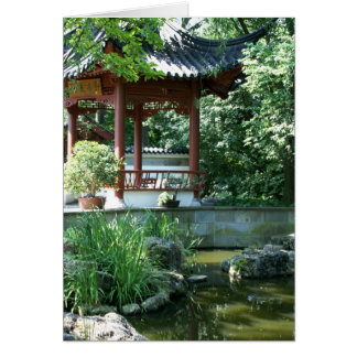 Chinese Garden Greeting Cards