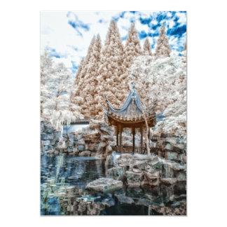 Chinese Garden Infrared Card