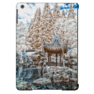 Chinese Garden Infrared iPad Air Covers