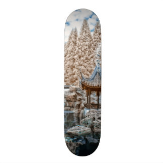 Chinese Garden Infrared Skateboard Deck