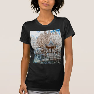 Chinese Garden Infrared T-Shirt