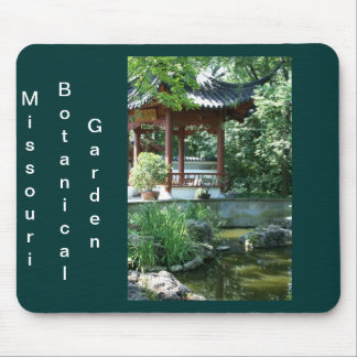 Chinese Garden Mouse Pad