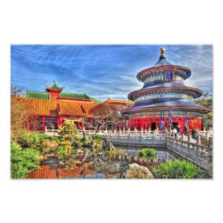 Chinese Garden Photo Art