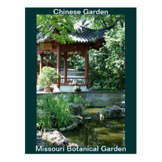 Chinese Garden Postcards