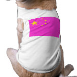 Chinese Gay Pride Doggie T Shirt