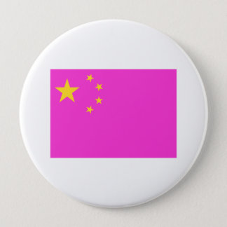 Chinese Gay Pride Pinback Button