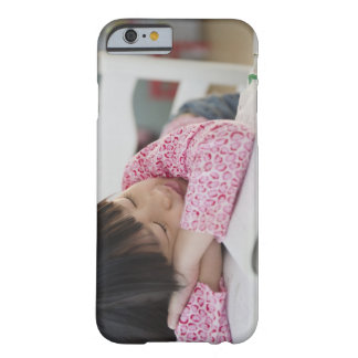 Chinese girl napping on textbooks barely there iPhone 6 case