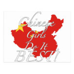 Chinese Girls Do It Best! Postcard