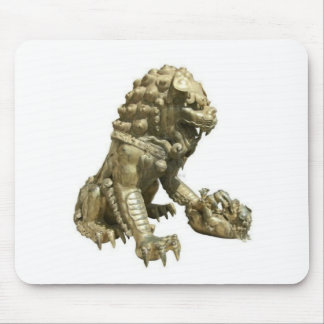 CHINESE GOLDEN LION NEAR FORBIDDEN CITY CHINA MOUSE PAD