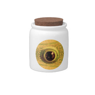 Chinese GoodLuck Charm : Dragon Eye Candy Jars