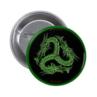 CHINESE GREEN DRAGON Design Button