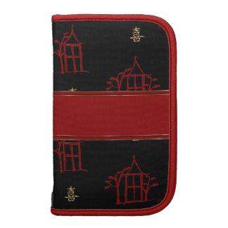 Chinese Happiness and Pagodas Smarphone Folio Folio Planners