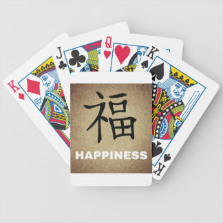 Chinese Happiness Bicycle Playing Cards
