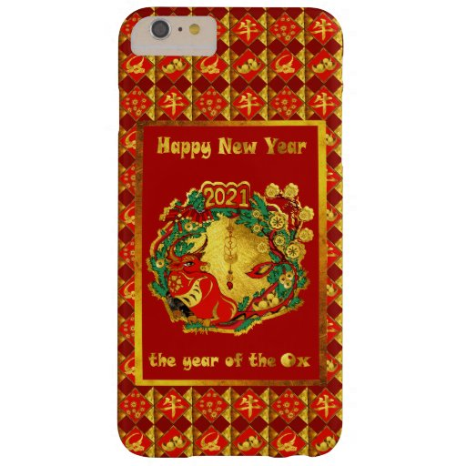 Chinese Happy New Year of The Ox Barely There iPhone 6 Plus Case