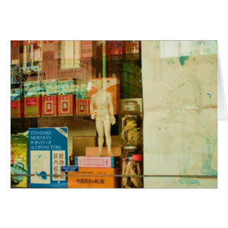 Chinese Health Store Card