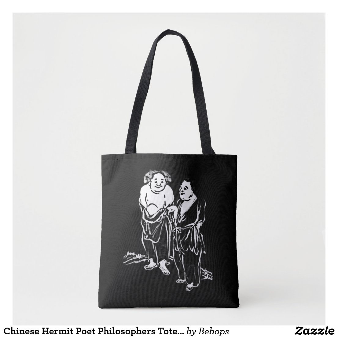 Chinese Hermit Poet Philosophers Tote Bag