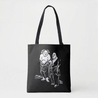 Chinese Hermit Poet Philosophers Tote Bag
