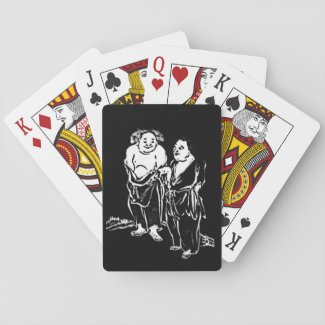 Chinese Hermit Poets Playing Cards
