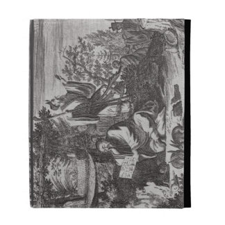 Chinese Holy Men, illustration from a description iPad Folio Case