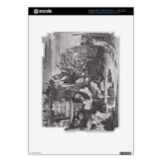 Chinese Holy Men, illustration from a description iPad 3 Skin
